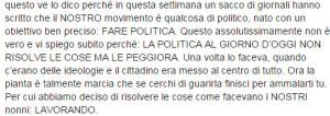 Francesco Facchinetti politica