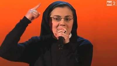 Suor Cristina Scuccia, concorrente di The Voice of Italy 2