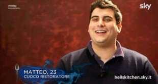 Matteo Grandi, il vincitore di Hell's Kichten Italia, in barba agli spoiler