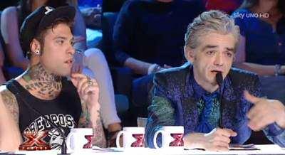 X Factor 8, Morgan e Fedez litigano ancor prima di andare in onda