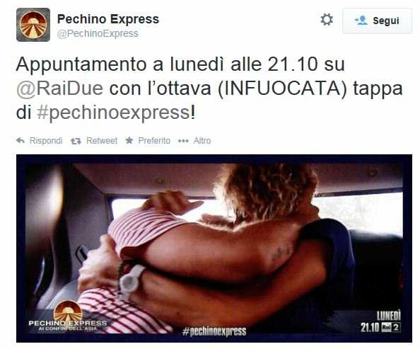 Pechino Express, tappa infuocata per Eva Grimaldi!