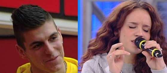 Love story per Giorgio Albanese e Francesca Miola, di Amici 14?