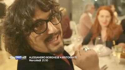 Alessandro Borghese in 4 Ristoranti, il nuovo programma di Sky Uno