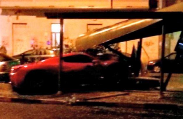 Incidente in Ferrari per Caceres