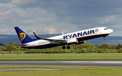 Ryanair celebra per la prima volta 100 milioni di passeggeri. Obiettivo? Crescere sempre di più!